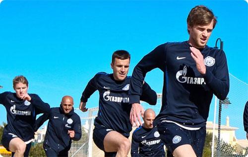 Футболисты «Зенита» прошли предсезонный медосмотр