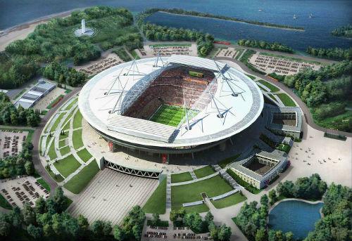 Стадион с Невой, овзможно, будет связывать пешеходный мост