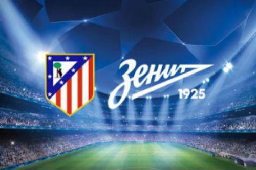 Прогнозы на матч «Атлетико» - «Зенит»