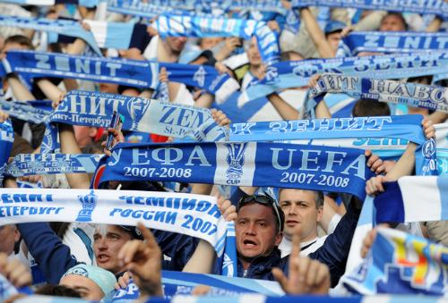 Фанаты «Зенита» хотят встречи с «Манчестер Юнайтед»