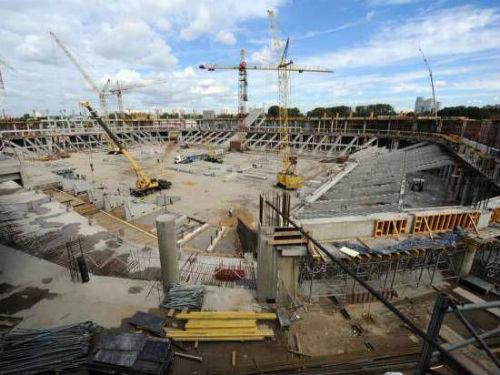 «Зенит» попросил компанию Nussli не разглашать стоимость модульной арены
