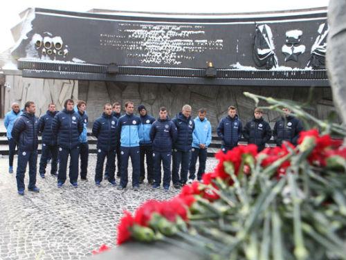 «Зенит» почтил память жертв блокады Ленинграда