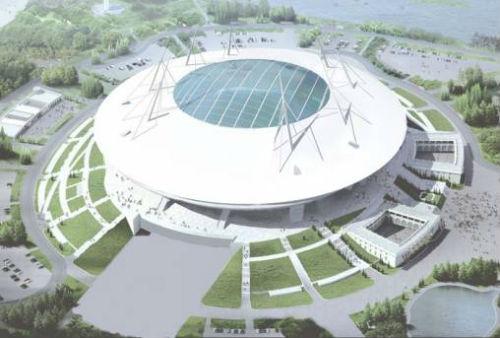Чаша стадиона «Зенита» готова на 90%