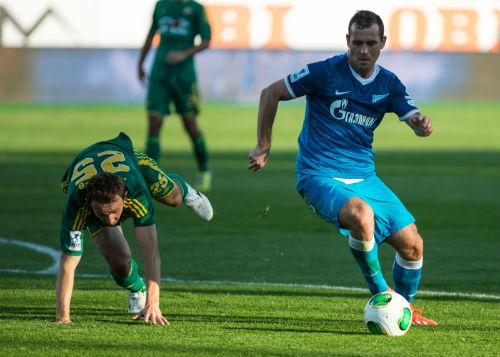 «Зенит» обыграл «Кубань», но остался вторым