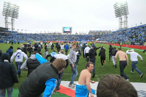 «Зенит» и «Динамо» не сумели доиграть матч