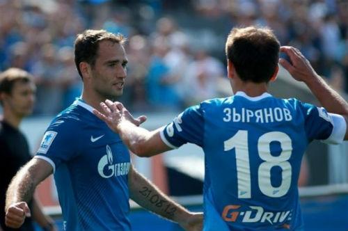 Широков и Зырянов покинули «Зенит»