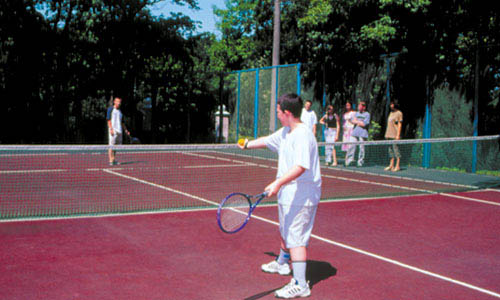 теннисные корты в москве